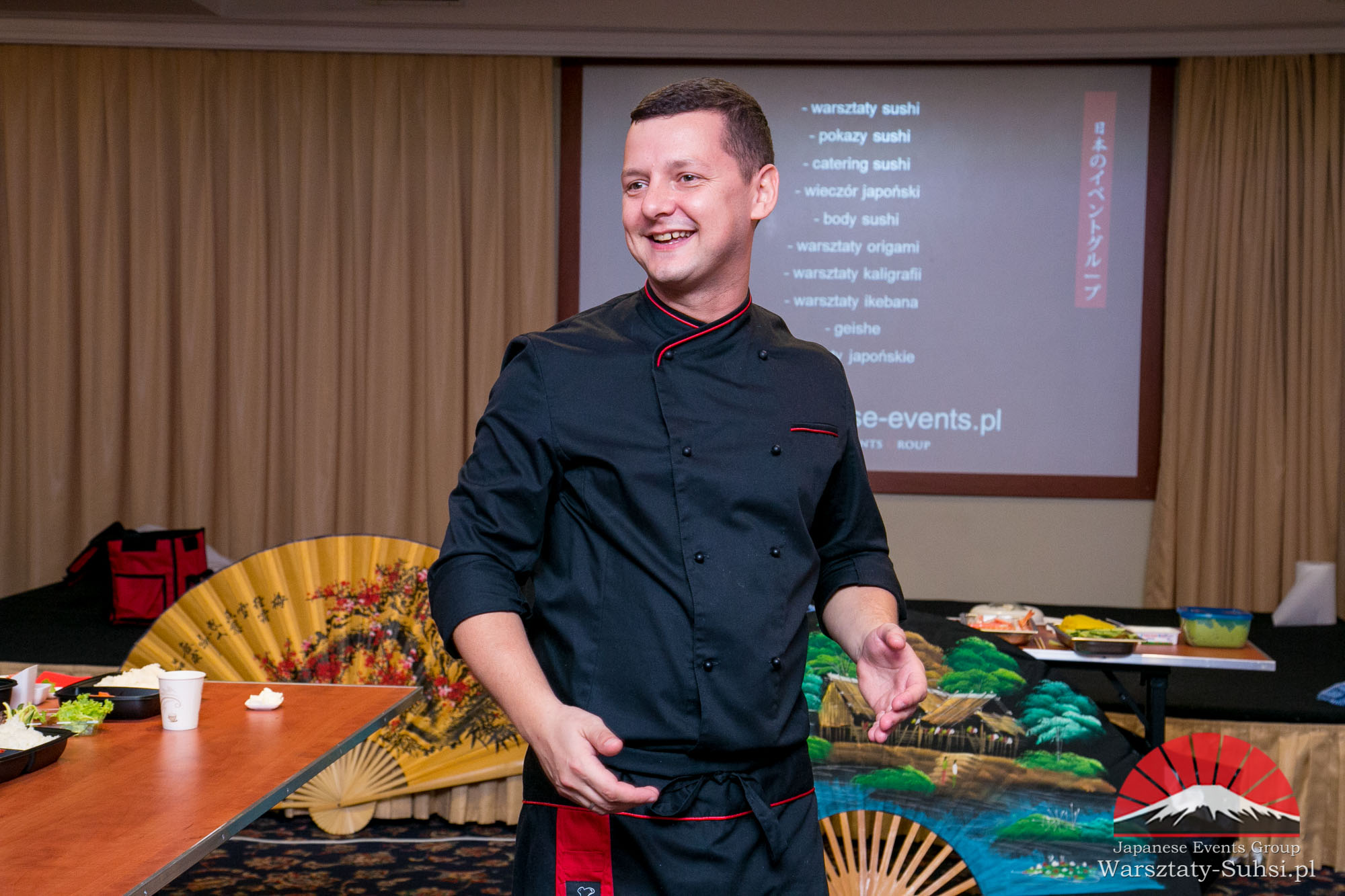 japanese-events-group-warsztaty-sushi- RUMIA HOTEL FALTOM